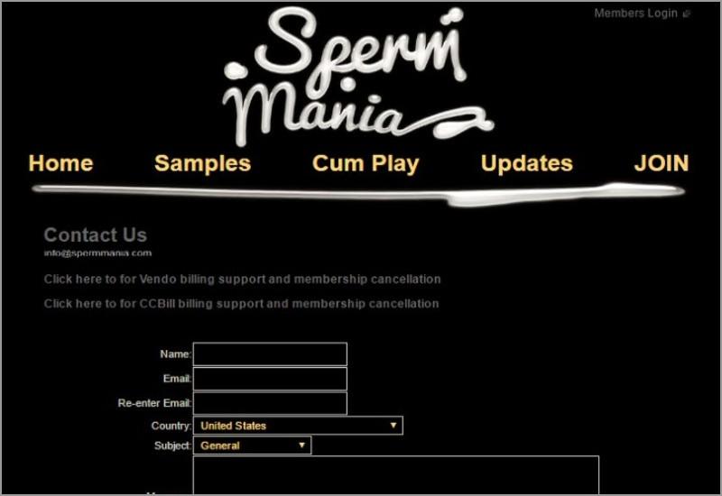 スパームマニア スペルママニア 退会方法 解約方法